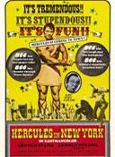 Геркулес в Нью-Йорке 1969 постер