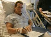 шварценеггер в больнице