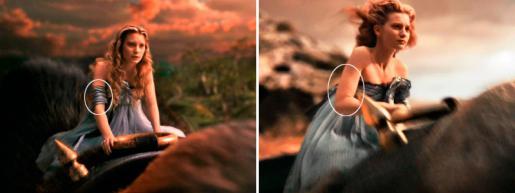 Киноляп: Повязка исчезла