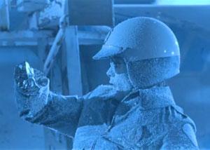 замерзший терминатор